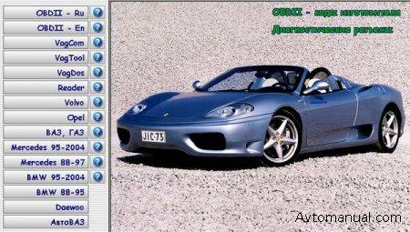 Программы для диагностики автомобилей Scan Tool v.4.3