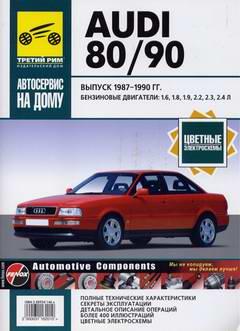 Audi 80 / Audi 90 (1987 - 1990 год выпуска). Руководство по ремонту автомобиля.