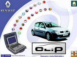 Renault Clip версия 99 (2010) Дилерская программа диагностики.