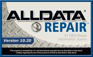 AllData Repair (Domestic) 10.20 февраль 2010 год. Информационная база по ремонту автомобилей.