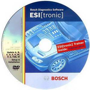 Bosch ESI Tronic версия 02.2010 год. Программа для диагностики и каталог запчастей.