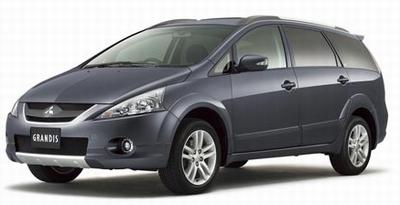 Mitsubishi Grandis (с 2003 года выпуска). Сервисное руководство по ремонту.