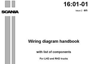 Электрические схемы грузовых автомобилей европейского производства: MAN, Scania, Volvo, DAF, Renault