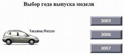 Chevrolet Tacuma / Rezzo (2005 - 2007 год выпуска). Руководство по ремонту.