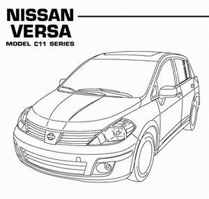 Nissan Versa (Tiida / Latio) C11 (с 2007 года выпуска). Руководство по ремонту.