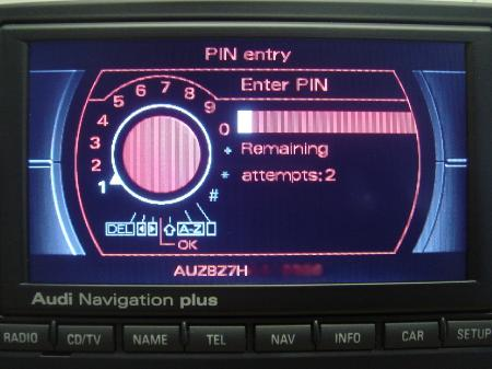 Audi Navigation Plus RNS-E 2011 Central-West Europe (Multilanguage)