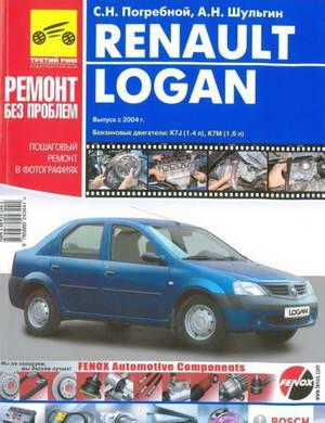 Руководство по ремонту Renault (Dacia) Logan с 2004 года выпуска