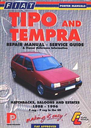 Руководство по ремонту Fiat Tipo / Tempra 1988 - 1996 года выпуска