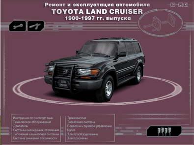 Toyota Land Cruiser 1980-1997 года выпуска. Руководство по ремонту.