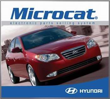 Каталог запчастей Hyundai Microcat 08/2009 - 09/2009