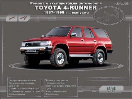 TOYOTA 4-RUNNER/HILUX/SURF (1987-1998г)