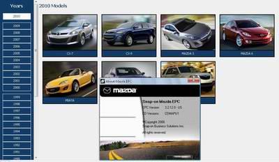 Mazda USA ProQuest 10.2009. Каталог запасных частей Mazda.