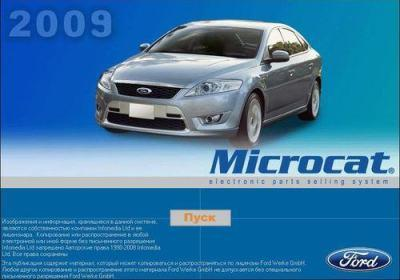 [Ford Microcat](2009) Каталог запчастей Ford (Европа)