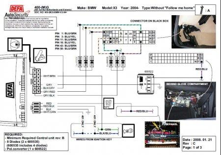 DEFA : Инструкции по установке сигнализаций