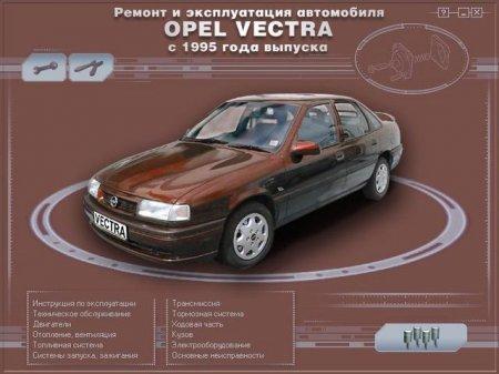 """Opel Vectra """"B"""" с 1995 г Мультимедийное руководство по ремонту и эксплуатации (2001)"""
