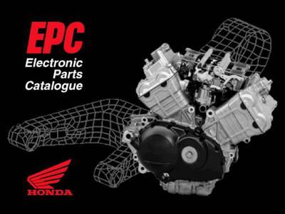Honda Moto EPC v.12 Каталог запасных частей для мотоциклов