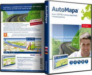 Навигация Automapa 6.0.0.829 Multilingual 2009 + карта Европы