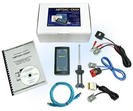 АВТОАС-СКАН 7.19 - программа-сканер для диагностики различных систем автомобилей отечественного и импортного производства