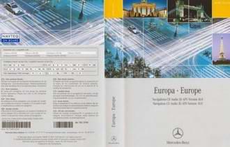 Навигация для автомобиля Mercedes CD Audio 30 APS Europe v.10.1 (2009-2010)