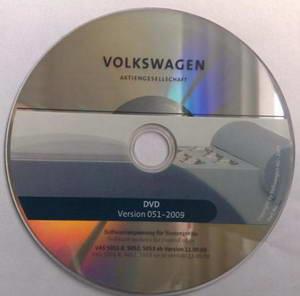 Volkswagen Flash DVD v.051 2009. Программное обеспечения для блоков управления автомобилей VW.