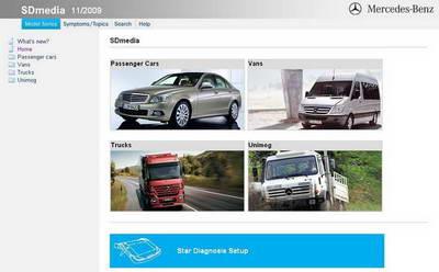 Руководство по поиску и устранению неисправностей Mercedes SDmedia 11.2009 год