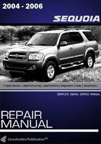 Toyota Sequoia (2001 - 2006 год выпуска). Руководство по ремонту.