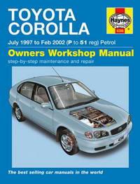 Toyota Corolla E11 (1997 - 2002 год выпуска). Руководство по ремонту.