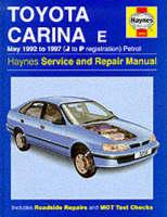 Toyota Carina Е (1992 - 1997 год выпуска). Руководство по ремонту.