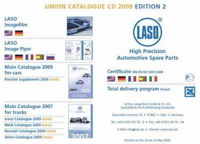 LASO 2009 Edition 2 05.2009 Объединенный каталог запчастей для автомобилей