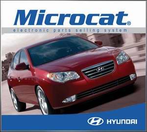 Электронный каталог запасных частей Hyundai Microcat  12.2009 - 01.2010 год