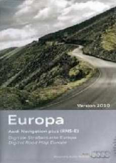 Audi Navigation plus RNS-E East-Central Europe 2010. Программа навигации для автомобилей Audi.