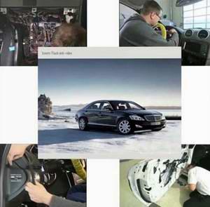 Ремонт автомобилей Mercedes: обучающее видео.