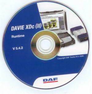 Диагностика и ремонт автомобилей DAF: DAF Runtime версия 5.4.2 (2009)
