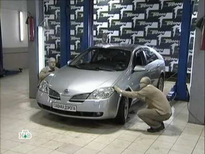 Nissan Primera (2003 год выпуска). Видео обзор и тест-драйв автомобиля.
