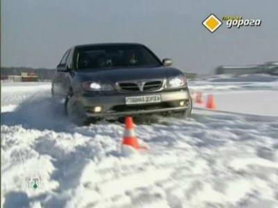 Nissan Maxima QX (A33) (2001 год выпуска). Видео обзор и тест-драйв автомобиля.