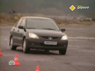 Mitsubishi Lancer IX (2004 год выпуска). Видео обзор и тест-драйв автомобиля.
