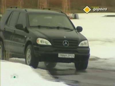 Mercedes ML320 W163 (2000 год выпуска). Видео обзор и тест-драйв автомобиля.