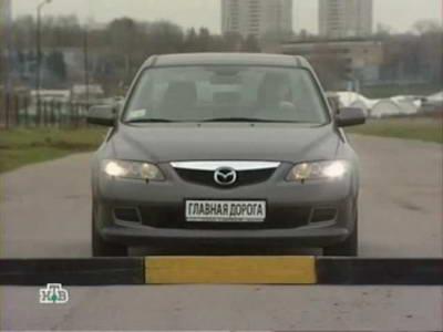 Mazda 6 (2003 год выпуска). Видео обзор и тест-драйв автомобиля.