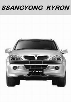 SsangYong Kyron. Руководство по ремонту и обслуживанию автомобиля.