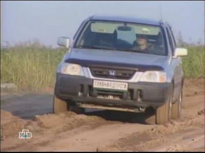 Honda CR-V (2000 год выпуска). Видео обзор и тест-драйв автомобиля.
