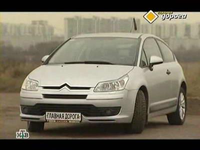 Citroen C4 (2006 год выпуска). Видео обзор и тест-драйв автомобиля.