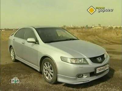 Honda Accord (2003 год выпуска). Видео обзор и тест-драйв автомобиля.