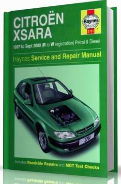 Citroen Xsara (1997 - 2000 год выпуска). Руководство по ремонту.