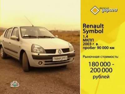 Renault Symbol (2003 год выпуска). Видео обзор и тест-драйв автомобиля.