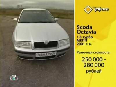 Scoda Octavia (2001 год выпуска). Видео обзор и тест-драйв автомобиля.