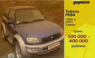 Toyota RAV4 (1998 год выпуска). Видео обзор и тест-драйв автомобиля.