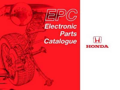 Honda EPC 5.10 11.2009. Каталог запасных частей Honda японского рынка.