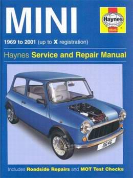 Mini (1969 - 2001 год выпуска). Руководство по ремонту Service and Repair Manual