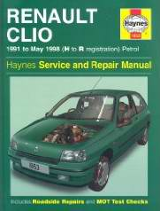 Renault Clio (1991 - 1998 ��� �������). ����������� �� ������� (Haynes Service and Repair Manual)