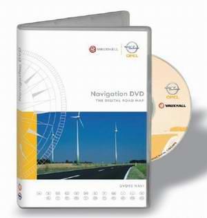 Opel DVD90 2009/2010 Европа. Штатный диск навигации для автомобилей Opel.
